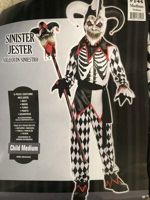 Sinister jester costume size 8/10 for Sale in Leesburg, VA