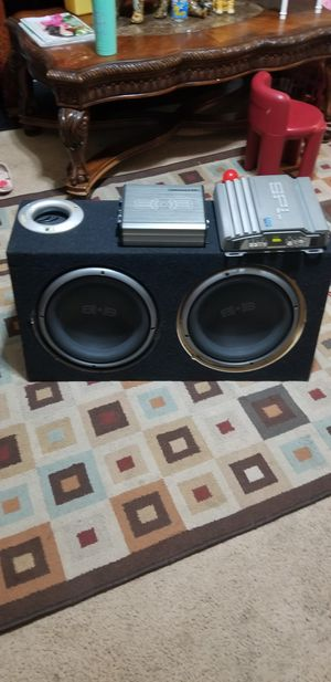 Subwoofer 2 amp. for Sale in Zebulon, NC