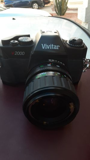 Vivitar V2000 35mm Film Camera w/ 28-70mm 1:5 Macro Lens for Sale in Glendale, AZ