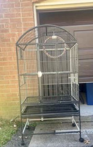 "60"" tall Large parrot flight cage & stand w/swing for Sale in Philadelphia, PA"