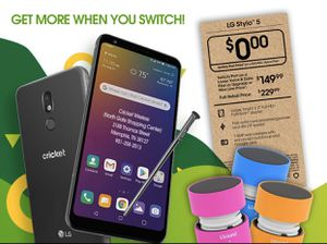 LG STYLO 5 (FREE) ...FREE WIRELESS SPEAKER ALSO (WHEN YOU SWITCH) for Sale in Memphis, TN