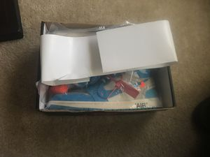"""Off-white Nike """"AIR JORDAN USA 1985"""" university blue for Sale in Tallahassee, FL"""