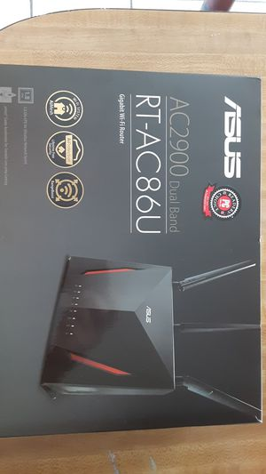 NEW ASUS AC2900 Dual Band Giabit Wifi Router for Sale in Glendale, AZ
