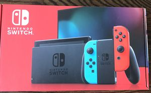 Nintendo Switch neon blue and red joy-con Model number HAC 001( 01) for Sale in Staten Island, NY