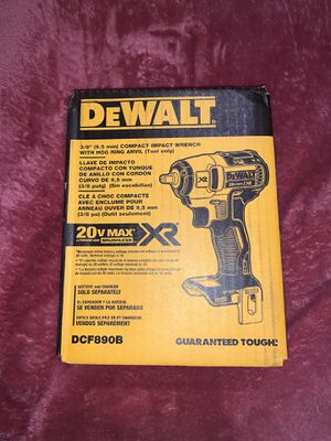 FIRM PRICE — PRECIO FIRME ** DEWALT XR IMPACT WRENCH 3/8 ( TOOL ONLY) NO BATTERY NO CHARGER for Sale in Dallas, TX