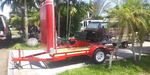 Trailer w/ front cowl. 3500 lb. Axle for Sale in Hollywood, FL