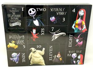 The Nightmare before Christmas 12 Days Of ladies Socks Size 9-11. for Sale in San Diego, CA
