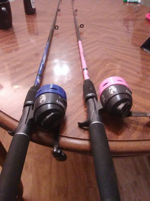 His and hers fishing rods for Sale in Tempe, AZ