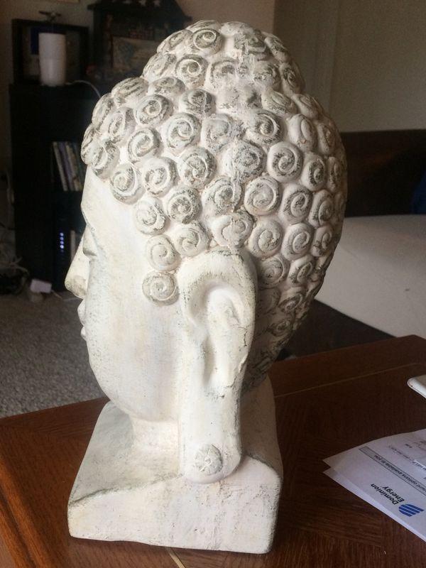 Ceramic Buddha head