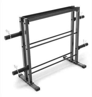 Marcy Combo Weight Storage Rack - Durable, Heavy Duty for Sale in Hampton, GA