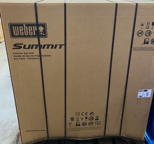 Weber summit e-670 for Sale in Downers Grove, IL