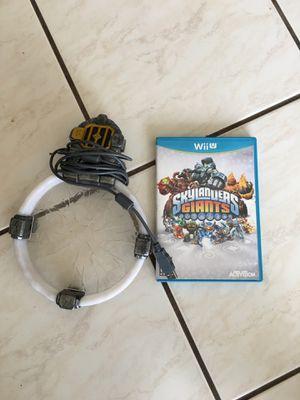 Nintendo Wii U Skylander Giants Game and Portal for Sale in Oakland Park, FL