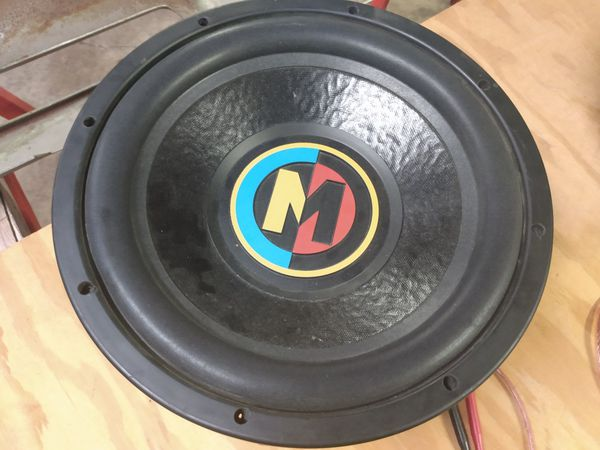 """12"""" Memphis in ported box"""