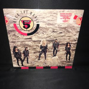 "5 Star Rock The World 12"" LP Album for Sale in Chicago, IL"