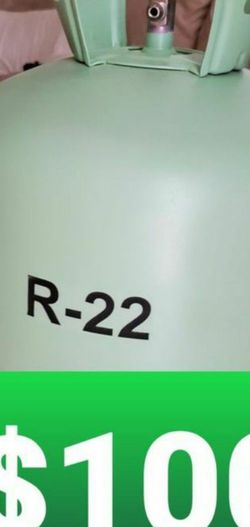 R22 freon 10 pounds in the tank for Sale in Pompano Beach,  FL