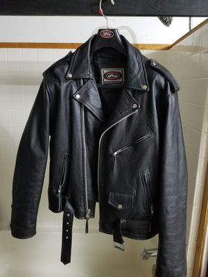 Bikers jacket size L for Sale in Snohomish, WA