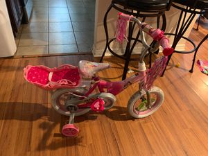 Princess bike for girls for Sale in Winter Haven, FL