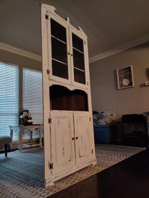 Corner cabinet (antique) for Sale in La Porte, TX