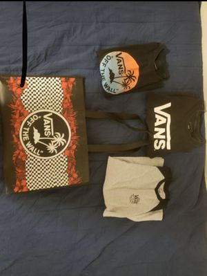 VANS Shirt Lot- Set of 3 for Sale in Riverview, FL