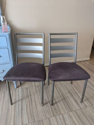 *DESIGNER* Tori Dining Chairs by Amisco (set of 2) for Sale in Alexandria, VA