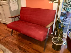 Red couch / love seat for Sale in Burien, WA
