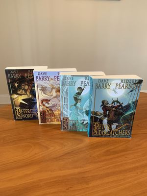 Peter and the Starcatchers - Dave Barry and Ridley Pearson 4 book set for Sale in Plantation, FL
