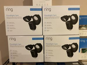 Firm Price : Brand New Ring Floodlight Camera Wired $190 each for Sale in Darnestown, MD
