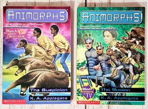 Animorphs Lot of 2 Paperbacks Books #24 & #33 K.A. Applegate for Sale in Harrisonburg, VA
