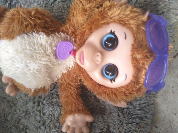 Furreal Friends Monkey Animated Toy Like New