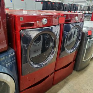 Kenmore Front Load Washer And Electric Dryer Set With Pedestals Working Perfectly Four Months Warranty for Sale in Baltimore, MD