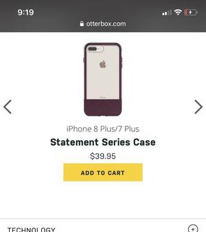 iPhone 8 Plus case n screen protector for Sale in Santa Maria, CA