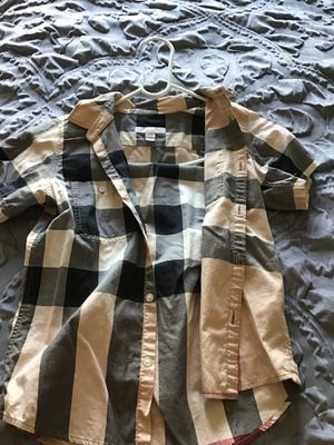 Burberry shirt for Sale in Lynwood, CA