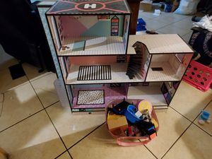 LOL doll house/furniture for Sale in Mesa, AZ