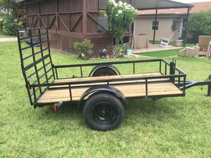 5' x 8' Trailer with Reinforced Ramp Door for Sale in Pompano Beach, FL