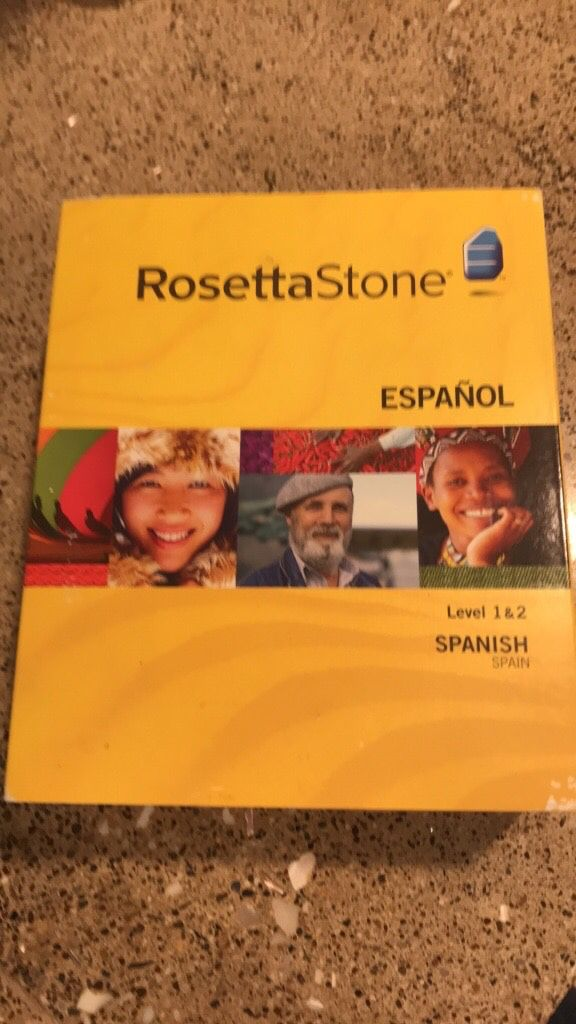 Rosetta Stone Spanish course