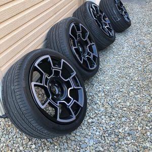 "Rolls Royce OEM Black Badge Carbon Fiber 21"" wheels And Tires for Sale in Las Vegas, NV"
