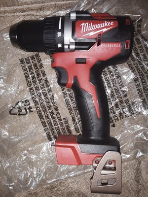NEW MILWAUKEE M18 BRUSHLESS 1/2 DRILL DRIVER TOOL for Sale in Glendale, AZ