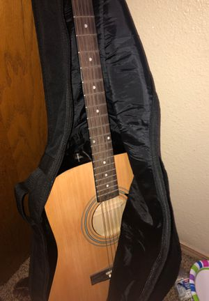 Fender Acoustic Guitar (Gig Bag, Picks, Wall Mount Included) for Sale in Vancouver, WA