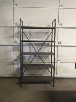 New Pipe And Wood Rustic Industrial Shelves for Sale in Normandy Park,  WA