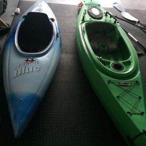 Fishing Kayaks W/paddles for Sale in Tampa, FL