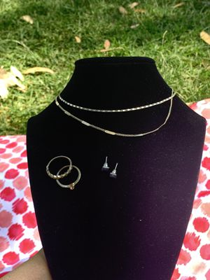 Silver and gold set for Sale in Fullerton, CA
