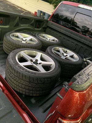 Mustang cobra wheels for Sale in Los Angeles, CA