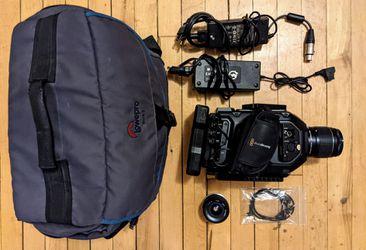 Blackmagic Ursa Mini 4.6K Super 35 Film Camera EF Mount for Sale in Denver,  CO