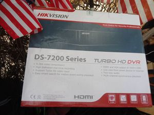 HIK VISION DS_7200 SERIES TURBO HD DVR for Sale in San Angelo, TX
