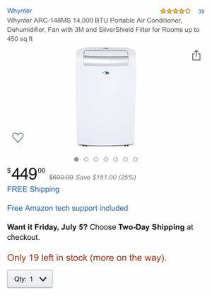 Wynter Portable Air Conditioner, Dehumidifier,Fan NIB for Sale in Springboro, OH