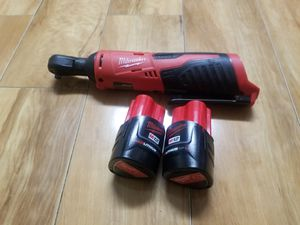 130$ firm Brand new milwaukee m12 1/4 inch rachet(no charger) for Sale in Alexandria, VA