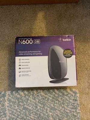 Belkin N600 WiFi router for Sale in Clearwater, FL
