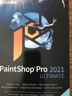 2021 Paintshop Pro Ultimate Software for Sale in San Ramon,  CA