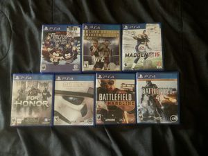 PS4 game lot - Playstation Video games for Sale in Miami, FL
