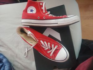 Converse Red high tops size 11 for Sale in Winter Haven, FL
